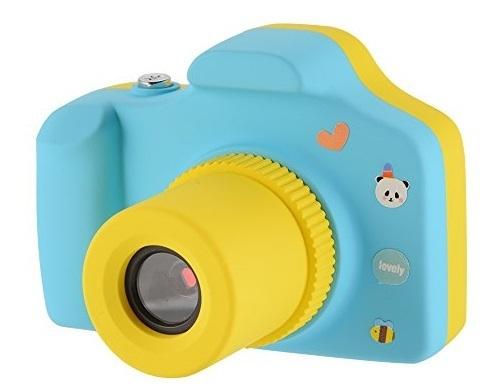 VisionKids ビジョンキッズ 子供用カメラ 一眼レフ 500万画素 録画機能 8GB MicroSDカード&日本語説明書付き CE FCC PSE認証済み 子供プレゼント (ブルー) JP014,おもちゃ,カメラ,