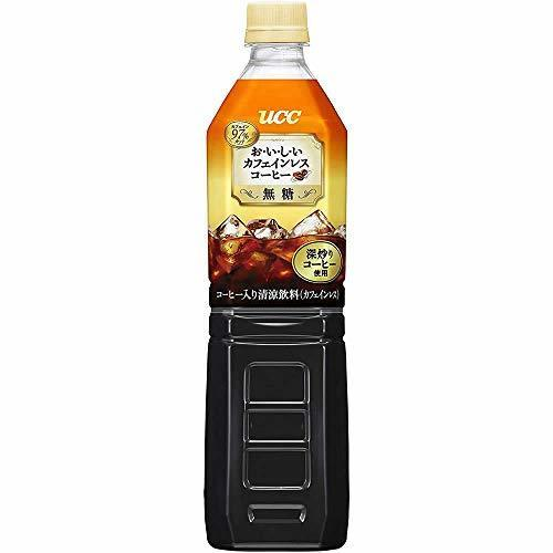 UCC おいしいカフェインレス ボトルコーヒー 無糖 ペットボトル 930ml×12本,ノンカフェイン,コーヒー,