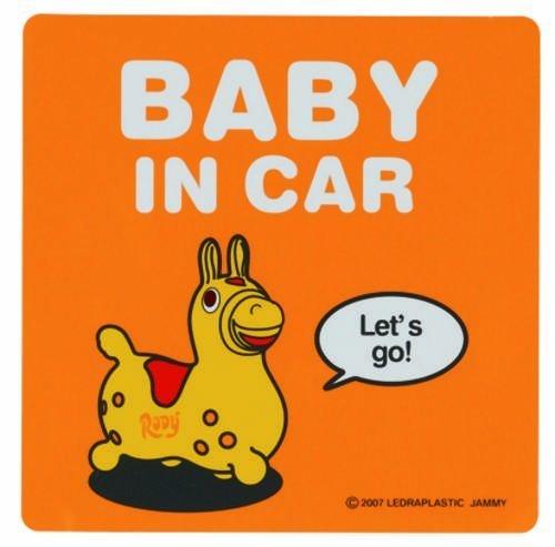 タカラトミー ロディ ゴーゴードライブ ステッカー BABY IN CAR,ベビーインカー,