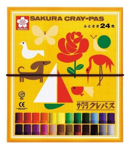サクラクレパス太巻 24色,クレヨン ,クレパス,