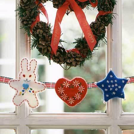 クリスマスオーナメント,手作り,マスコット,