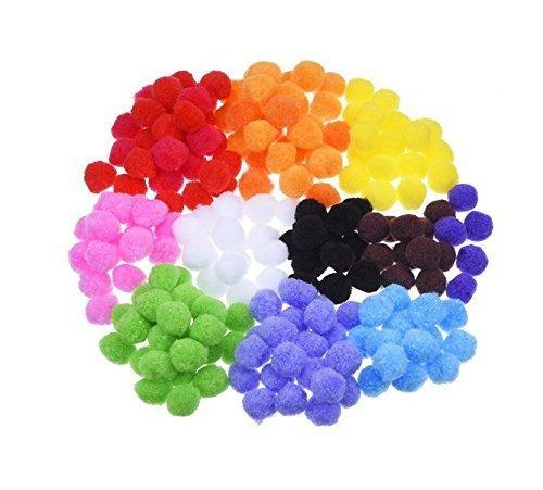 ATPWONZ毛糸ポンポンインテリア 可愛い彩るポンポン ふかふか毛玉おもちゃ 女性/児童DIY 手作り雑貨 資材 素材 手芸材料,手作り,マスコット,