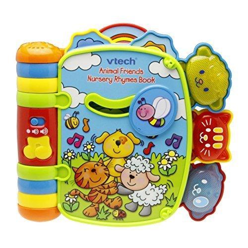 VTech Animal Friends Nursery Rhymes Book 「どうぶつたちと歌う絵本」 正規輸入品 80-027503,絵本,おすすめ,0歳