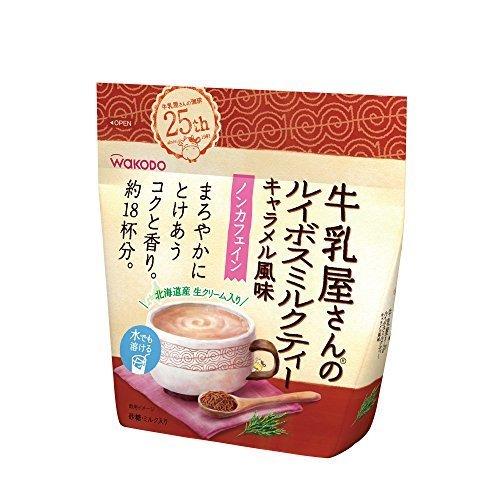 和光堂 牛乳屋さんのルイボスミルクティー キャラメル風味 220g,牛乳屋さん,和光堂,