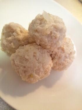 高野豆腐入り鶏団子,離乳食,鶏団子,