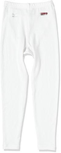 (ミズノ)MIZUNO アウトドアウエア ブレスサーモ ロングタイツJ [ジュニア] A2JB5901 01 ホワイト 150,小学校,パンツ,