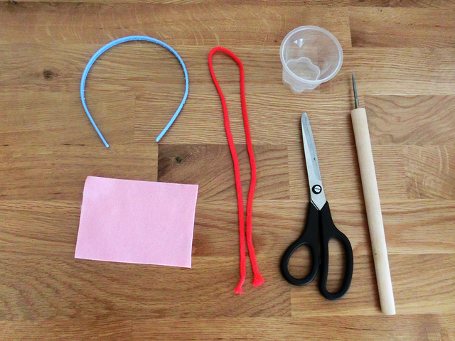 聴診器 材料,お医者さんごっこ,おもちゃ,手作り