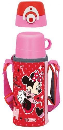 サーモス 真空断熱2WAYボトル ディズニーミニー ,幼稚園,水筒,