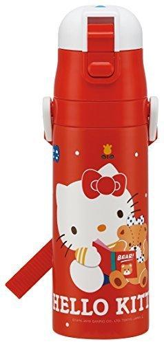 直飲み 水筒 ステンレスボトル 470ml ハローキティ 80'S サンリオ SDC4,幼稚園,水筒,