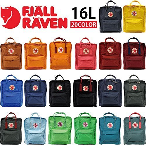 FJALLRAVEN/フェールラーベン カンケンバッグ FJ 23510 リュックサック/バックパック/デイバッグ/ハンドバッグ/カバン/鞄 レディース/メンズ 16L [並行輸入品],ママリュック,人気,おしゃれ