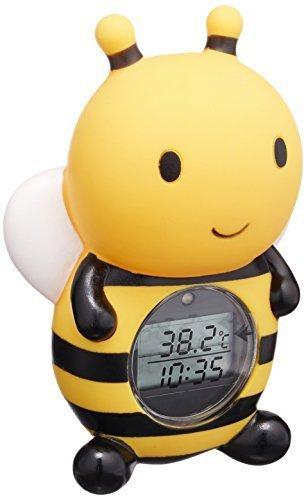 パパジーノ 湯温計 ルーム&バスサーモメーター(デジタル式) みつばち (RBTM002),赤ちゃん,お風呂,時間