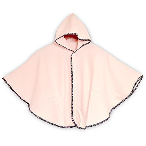 ブルーム 今治タオル 認定 Fit-Use (フィットユース) ベビーポンチョ 速乾 軽量 ガーゼ生地 かわいい 日本製 (ピンク),赤ちゃん,お風呂,時間
