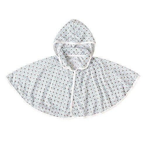 ソレイアード UVカットベビーマント ホワイト 〜100cm 4743,赤ちゃん,ポンチョ,