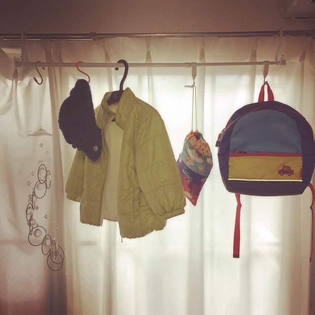 ハンガーラック風収納,子供服,収納,