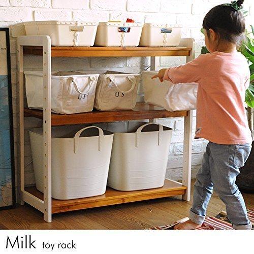 こどもと暮らしオリジナル Milk お片付けラック,子供服,収納,