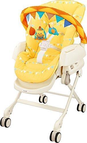 コンビ ベビーラック ネムリラjoy EF サーカスイエロー 新生児~4才頃まで対象 トイバー付き,ハイローチェア,おすすめ,