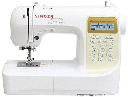 SINGER コンピューターミシン 文字縫い機能搭載(ひらがな・数字・アルファベット・漢字) 模様数207種類 フットコントローラー付き SN777DX,ミシン,初心者,