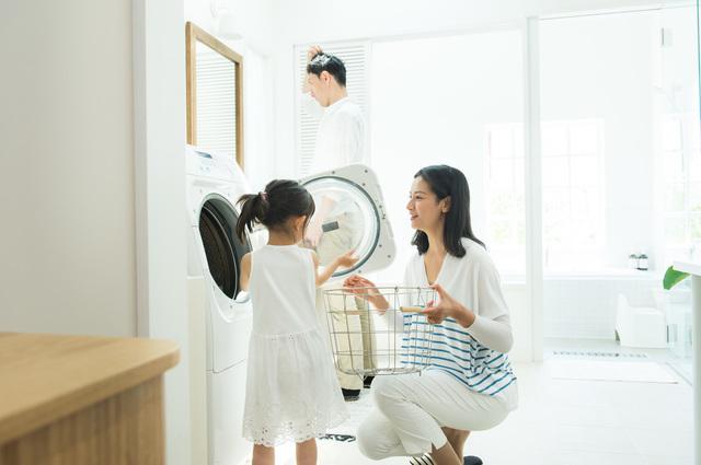 家族洗濯,離乳食,エプロン,