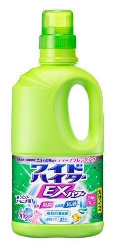 【大容量】ワイドハイターEXパワー 衣料用漂白剤 液体 本体 1000ml,離乳食,エプロン,