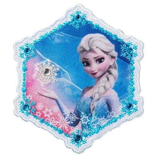 ミノダ アナと雪の女王 ラインストーン付ワッペン大 エルサ-大 D01Y0089,アイロンワッペンの付け方,