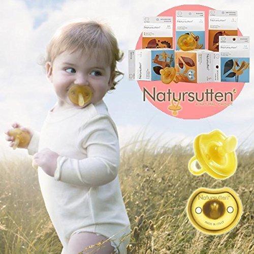 Natursutten ナチュアスッテン おしゃぶり バタフライ枠 歯科矯正型 S(~6ヶ月),赤ちゃん,おしゃぶり,