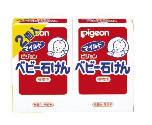 ピジョン ベビー石けん(0ヵ月~) 90g 2個,ベビー石鹸,固形,おすすめ