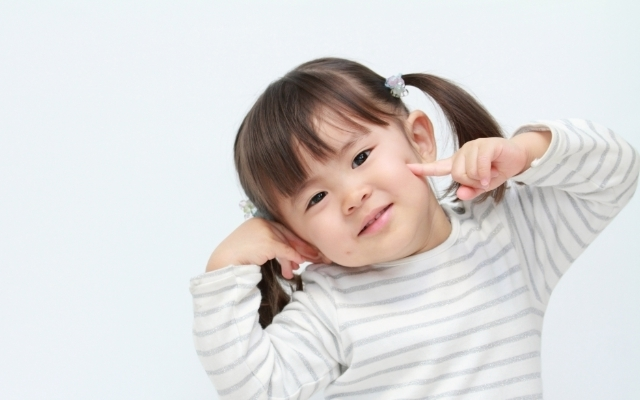 2歳児の女の子,