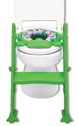 リトルプリンセス Little Princess かえるのふかふか ステップ式 トイレトレーナー グリーン,おまる,おすすめ,