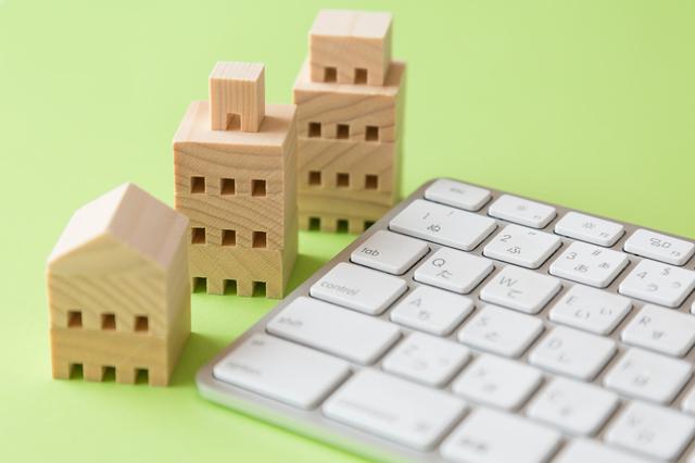 住宅積み木イメージ,