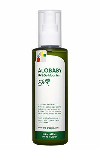 アロベビー UV&アウトドアミスト ビッグボトル 180ml 大容量 赤ちゃん 無添加 オーガニック 紫外線吸収剤不使用,赤ちゃん,虫除け,