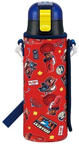スケーター 直飲み ステンレス 水筒 470ml ボトルカバー付き カーズ 17 ディズニー KSDC4,小学生,水筒,