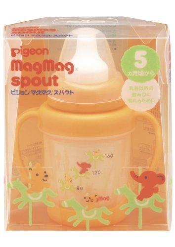ピジョン Pigeon マグマグ スパウト 200ml 5ヵ月頃から,ベビーマグ,