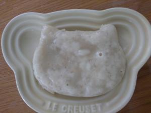 離乳食☆果物蒸しパン,離乳食,蒸しパン,