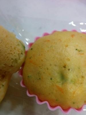 離乳食に☆野菜ジュースの蒸しパン,離乳食,蒸しパン,