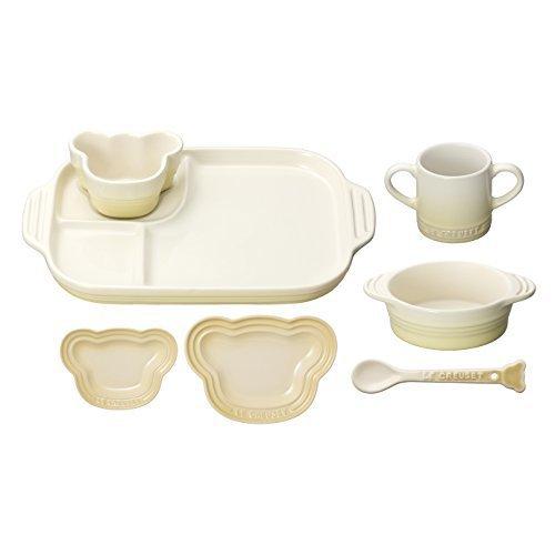 ルクルーゼ ベビー テーブルウェア セット 子供用 食器セット 耐熱 デューン 910427-00-68,お食い初め,食器,
