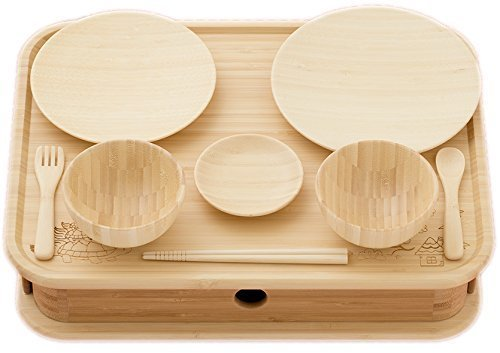 agney*(アグニー) お食い初め 箱膳セット 国産 天然竹製 食洗機対応 ノーマルタイプ,お食い初め,食器,