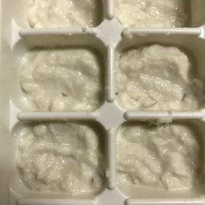 離乳食初期 白身魚(真鯛)のペースト,離乳食,魚,