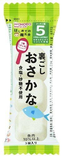和光堂 はじめての離乳食 裏ごしおさかな 2.6g×6個,離乳食,魚,