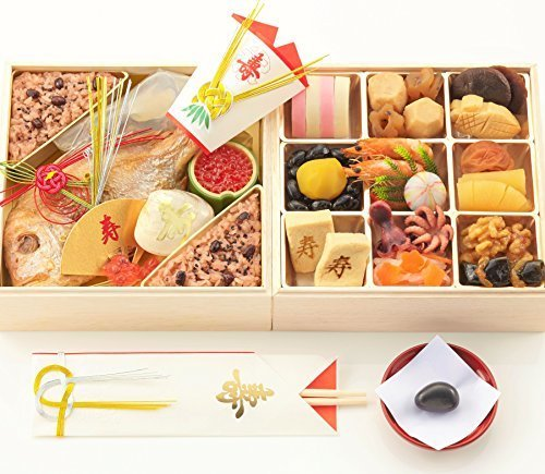 お食い初め豪華二段セット 日本橋正直屋 和食伝統料理の老舗 これ一つでお食い初めの儀式が出来ます,お食い初めセット,