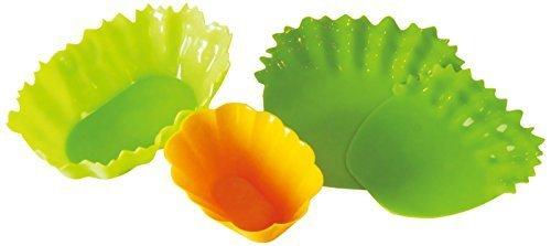 シリコン 野菜カップセット ワイド A-75842,お弁当,仕切り,