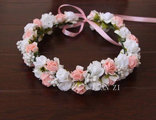 女の子憧れの ロマンチックな お花の 冠 結婚式 写真撮影などにも (オールタイプ),マタニティフォト,衣装,
