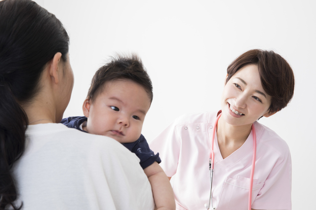 赤ちゃんの診察,離乳食,卵,