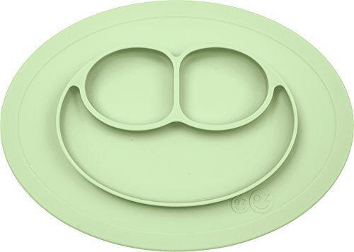 ezpz(イージーピージー) ベビー食器 ミニマット ひっくり返らない [ミント] シリコン ぴったり吸着 (吸盤 離乳食 食器) 子供 室内 おうち遊び おうち時間,ベビー食器,おすすめ,