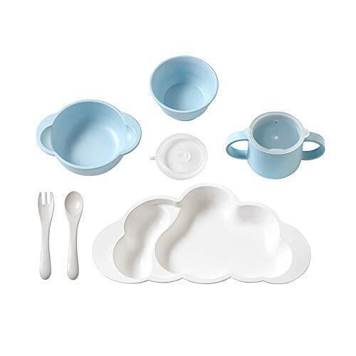 [10mois(ディモワ)] mamamanma grandeセット ブルー,ベビー食器,おすすめ,