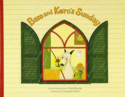 Bam and Kero's sunday バムとケロのにちようび 英語版,英語,絵本,