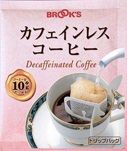 ブルックス カフェインレス 10g×70袋 ドリップバッグコーヒー 珈琲 BROOK'S BROOKS,デカフェ,おすすめ,