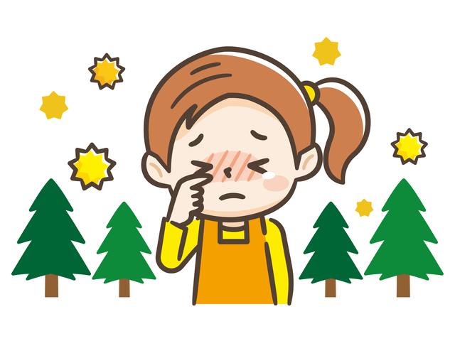 子どもの花粉症が増えてきている,花粉症,子ども,