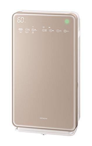 日立 加湿空気清浄機 クリエア ~42畳 自動おそうじ機能付き スピード集塵 PM2.5対応 EP-MVG90 N シャンパン,花粉症,子ども,