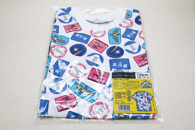 ヘッドマーク柄Tシャツ,