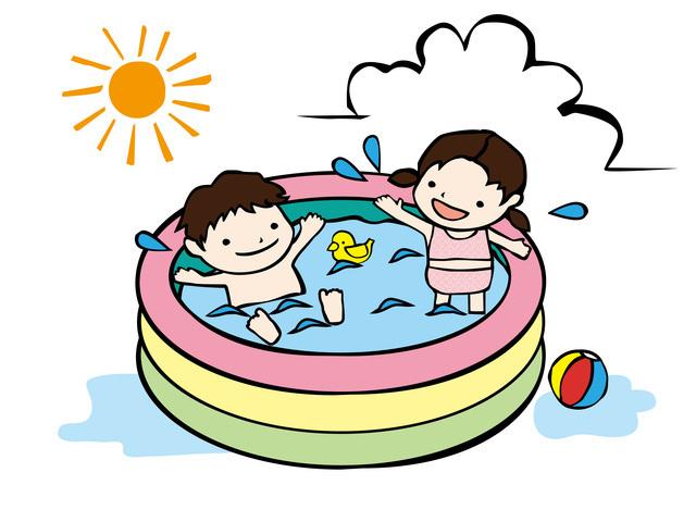 暑い日はやっぱりおうちプール,フォトコン,